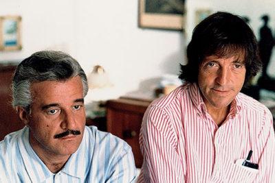 Christian De Sica e Carlo Vanzina