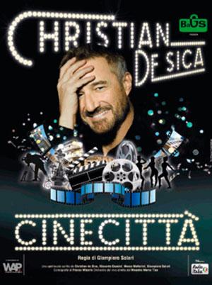 Cinecittà Christian De Sica